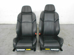 2013 12 13 14 15 16 Bmw M5 F10 Black Leather Heated / Cooled Front Seats 3018
