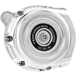 Performance Machine Air Cleaner Vintage Throttle By Wire Chrome 0206-2131-ch