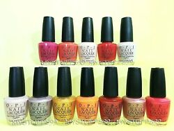 Opi Nail Lacquer Japanese Collection 2005 Discontinued You Choose Color New