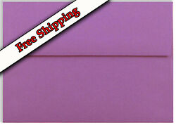 Amethyst Purple A7 Envelopes 5-1/4 X 7-1/4 For 5 X 7 Greeting Cards Invitation