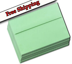 Pastel Green A7 Envelopes 5-1/4 X 7-1/4 For 5 X 7 Greeting Cards Invitations