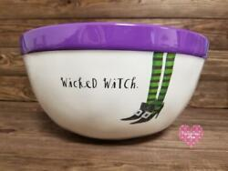 Rae Dunn Wicked Witch. Melamine Witch Feet Candy Serving Mixing Bowl New