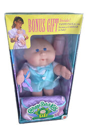 1995 Cabbage Patch Kid Baby Doll Guy Brendon And Fanny Pack