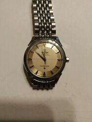 Omega Constellation Firts Edition 1962 All Stainless Steel. Pai Pan Dial...