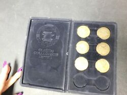National Rifle Association Collectors Series Coins Missing 2 Coins Vintage 1871