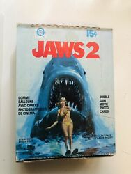 1978 O-pee-chee Jaws 2 Movie Cards Rare Factory Tape Sealed Box
