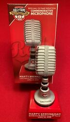Cincinnati Reds 2020 Marty Brennaman SGA Hall of Fame Talking Mic No bobblehead