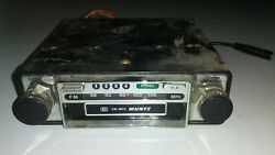 Vintage Muntz 8 Track Car Stereo Fm Mpx Untested As Is 2