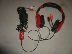 Tritton Kunai Playstation Wired Headphones Headset Ps3 Ps4 Red Gaming Stereo