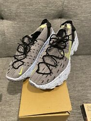 Nike Space Hippie This Is Trash Grey Volt Mens Size 10 Women Size 11.5 New 04 $150.00