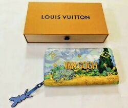 Louis Vuitton Zippy Wallet Van Gogh Jeff Koons Master Collection Limited Edition