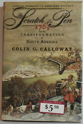 The Scratch of a Pen: 1763 and the Transformation of North America USED hardback