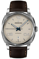 Watch Man Anonimo Epurato Am400001310w42 Leather Brown