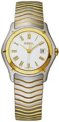 Watch Woman Ebel Classic 1257f21 Of Stainless Steel Gold