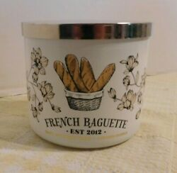 Bath and Body Works FRENCH BAGUETTE Scented Candle 3 Wick 14.5 oz NEW $32.75