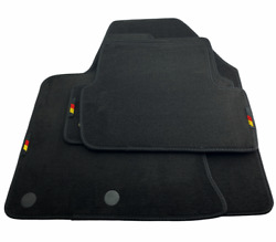 Floor Mats For Nissan With Germany Flag Emblem Tailored Carpets For All Models