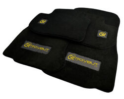 Floor Mats For Bmw With Rovbut Limited Edition Golden Carbon Tailored Carpets