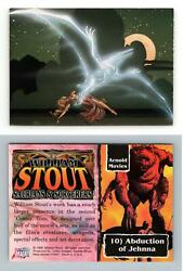Abduction Of Jehnna 10 William Stout 3 Saurians And Sorcerers 1996 Trading Card