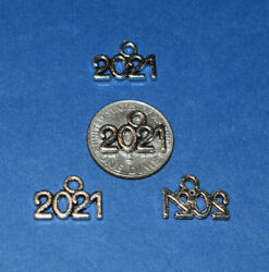 2021 Silver Charms 1 2quot; x 1 4quot; Lots of 4