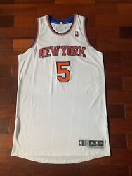 Jason Kidd Knicks Home Game Issued Team Issued Pro Cut Jersey