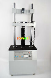 Electric Double Column Vertical Tension Test Stand Aev-5000n 110v X