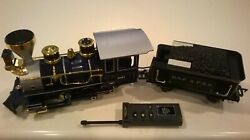Scientific Toy G Gauge 3691 Engine Dsp And Prr Coal Tender And Remote Train-eztec