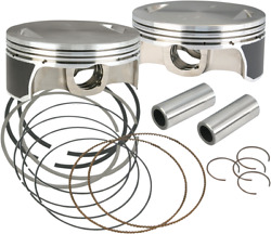 Sands Cycle 106-3491a Pistons 111/117/124 Std