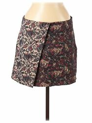 Nwt Free People Women Blue Casual Skirt M