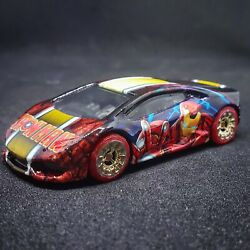 Hot Wheels CUSTOM lamborghini Iron Man livery $100.00