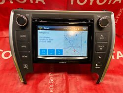 15 16 17 Toyota Camry Jbl Radio Cd Apps Scout Gps Navigation Link Entune Plus Xm