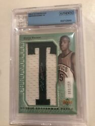 2007-08 Chronology Upper Deck Rookie Letterman Patch Kevin Durant Lma-166