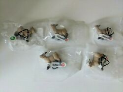 Schleich Dwarf Goat Kid Bleating 13717 Lot Of 5 Retired / New Sealed L@@k