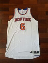 Porzingis Knicks Home Game Issued Team Issued Pro Cut Jersey