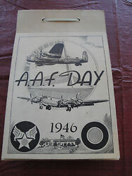 1946 Army Air Force Day 35th Bombing Squadron Photo Book Wwii Grant Cbs Nbc