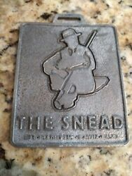 Greenbrier Resort Hotel Sam Snead Golf Sporting Club Member Pewter Bag Tag $38.00