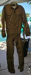 The Berger Bro Anti-blackout Flight Suit Type Z2 Coverall Size 38 Long Us Army