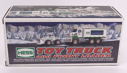 2008 Hess Toy Truck And Front End Loader Working Lights Sound Effects Motorized