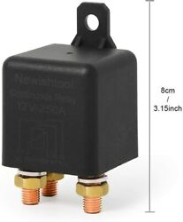 12v Dc 250a High Current 5 Pins Switch Continuous Relay For Auto Truck Boat Us