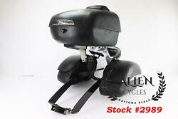 08 Victory Kingpin Tour Trunk Box Saddlebag Tow Hitch Assembly Bolt On - Read