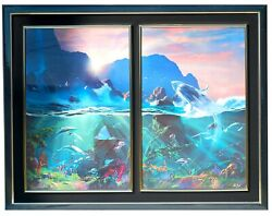 Dale Terbush Diptych Sea Of Light And All The Miracles To Sea Signed / Numbered