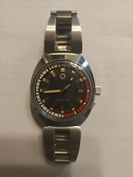 Rado Captain Cook Made To Austin Jewerly Co 1970 Auto All Stainless Steel....