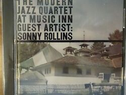 MODERN JAZZ QUARTET CD quot;AT THE MUSIC INN W SONNY ROLLINSquot; ATLANTIC 1299 2 USA 1