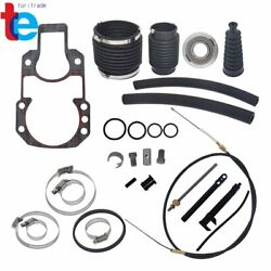For Mercruiser Alpha 1 One Gen One Transom Service Kit Gimbal Shift Cable Bellow