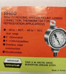 Universal Enterprises Rh60 Remote Reading Thermometer For Refrigeration