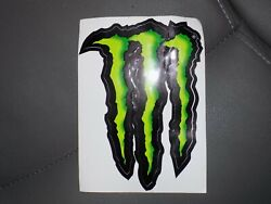 Monster Energy M-claw Stickers 6 X 4.5 Super Glossy Decals New