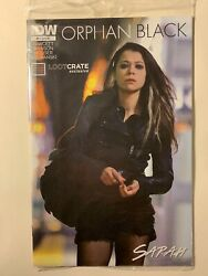 Orphan Black Comic #1 Exclusive Loot Crate Variant Sarah Cover
