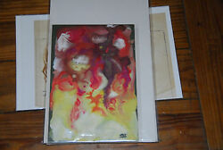 Frank Kelly Freas Listed Artist Original Comic Book Illustration Fire Painting