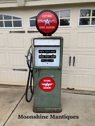 """1950's Flying """"a"""" Bowser Gas Pump - Rustoration"""