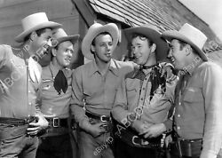 8b20-0685 Roy Rogers Sons Of The Pioneers Western Film Red River Valley 8b20-068