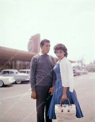 8b20-13041 Annette Funicello And Date At Historic Bobs Big Boy Restaurant 8b20-1